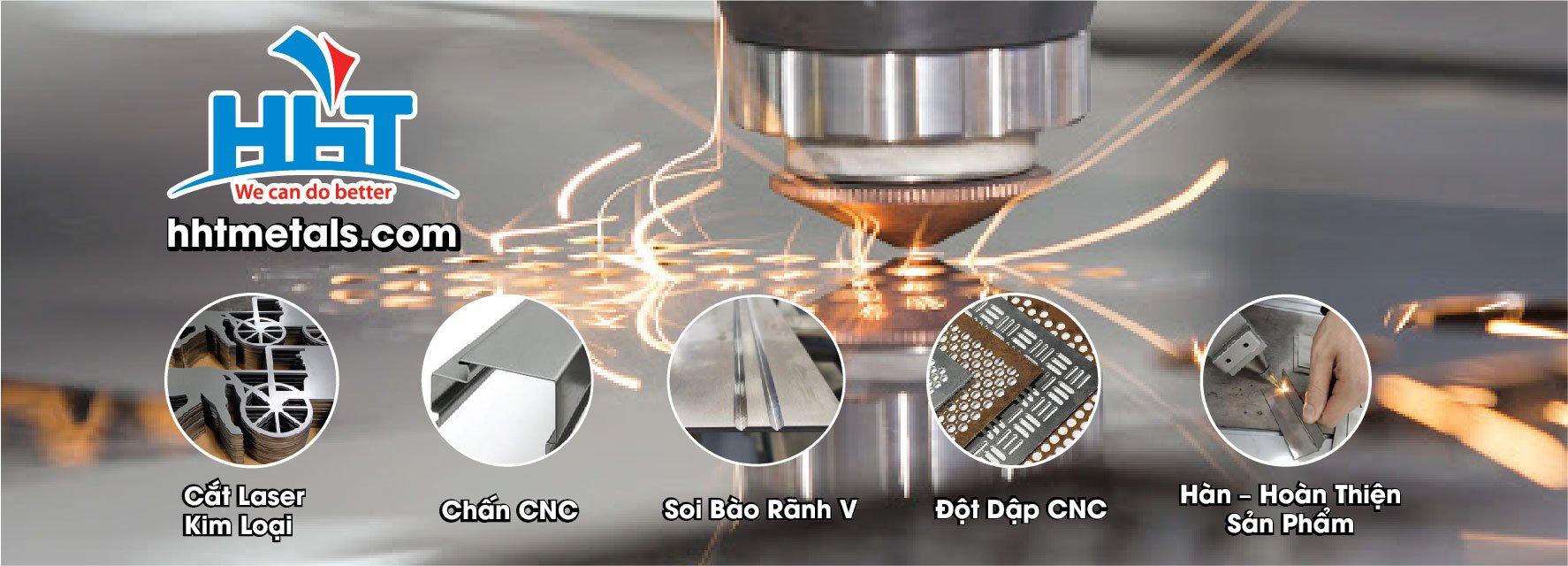 Gia công CNC kim loại tấm